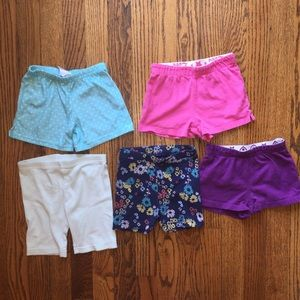 Other - 5/$25 Lot of toddler girl shorts 2T